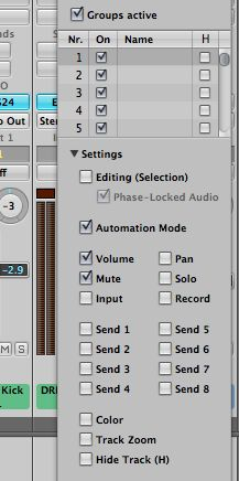 LP: Mixing A Track In Logic