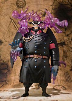 Figura One Piece. Magella, Figuarts Zero 25cm Figura de 25cm, creada por Bandai en su colección Figuarts Zero, de Magella, el máximo guardián o alcaide a cargo de Impel Down.