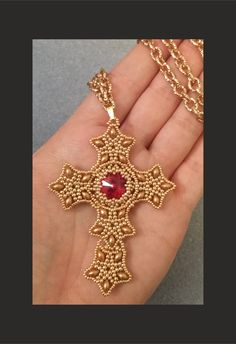 Ciondolo Croce (DIY - Cross Pendant)