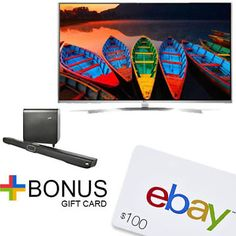 "LG 60"" 4K IPS UHD Smart LED TV W/Polk Omni SB1 Plus Sound Bar  $100 Gift Card #LavaHot http://www.lavahotdeals.com/us/cheap/lg-electronics-60-4k-ips-super-uhd-smart/125682"