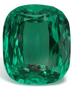 The Imperial Emerald at 206 carats is the world's most valuable emerald due to the fact that it is so clean, clear and is totally unenhanced.