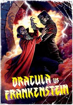 DRACULA VS. FRANKENSTEIN DVD (SHRIEK SHOW)
