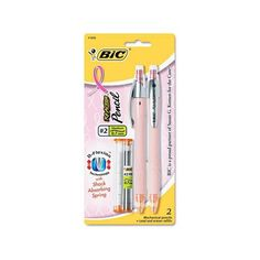 BIC Pink Ribbon ReAction Mechanical Pencil, 0.7mm Walmart.com (12 BRL) ❤ liked on Polyvore featuring home, home decor, office accessories, random and pink office accessories