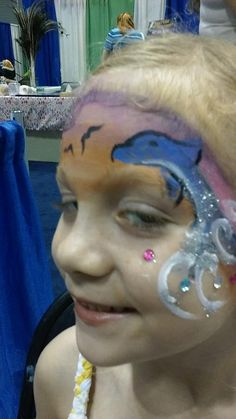 #dolphinfacepaint #beachfacepaint #floridafacepaint #orlandohomeandgardenshow2016 #funfacesballooncreationsfacepaint Dolphin Face Paint, Flo Rida, Carnival, Beach, Painting, The Beach, Carnavals, Painting Art, Beaches