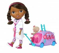 Doc McStuffins Walk n' Talk Doc Mobile - Just Play | Toys for Kids ...