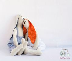 christmas gift ideas for girl, Large doll, bunny doll, Tilda, little girls room décor, stuffed bunny, linen doll, Limited edition!