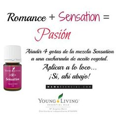 Mezcla de aceites esenciales Sensation de Young Living