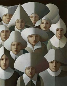 George Underwood  British Surrealist and Figurative painter. Born 1947.