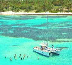 Sailing Cap Cana | punta cana group activity | http://wanderloveweddings.com