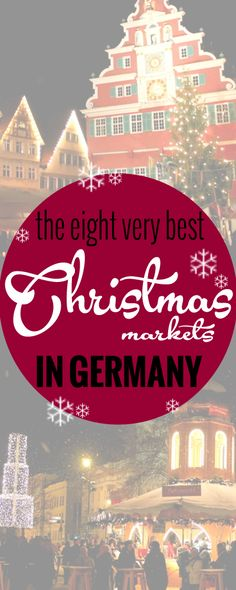 The best German #Christmas Markets in photos ---> http://www.eurotriptips.com/the-best-german-christmas-markets-in-photos/