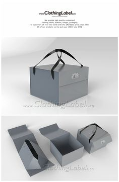 Custom foldable box which used for carrying shoes, Cake Boxes Packaging, Bakery Packaging, Food Packaging Design, Bag Packaging, Packaging Design Inspiration, Clothing Packaging, Jewelry Packaging, Paper Bag Design, Chocolate Packaging