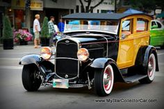 ◆ Visit ~ MACHINE Shop Café ◆ (1930 Ford Woody Street Rod)