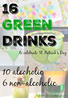 16 Green Drinks to Celebrate St. Patrick's Day (10 alcoholic, 6 non-alcoholic)