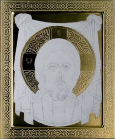 Фотография Religious Images, Religious Icons, Religious Art, Byzantine Art, Byzantine Icons, Gold Leaf Art, Ornaments Design, Art Icon, Painting Process