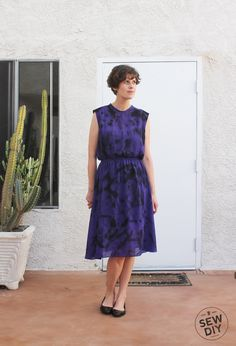 No-Sew Refashion – Painted Dress (with Tutorial) — Sew DIY