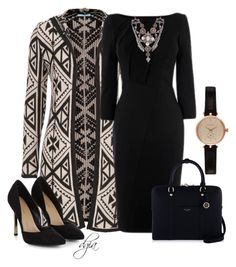 """""""Ethnic Pattern"""" by dgia ❤ liked on Polyvore featuring maurices, Henri Bendel, Barbour and Eye Candy"""