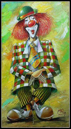 клоуны в живописи - Пошук Google