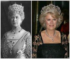 Camilla has fabulous tiara hair, and shes ...