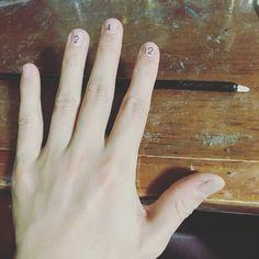 Number nail