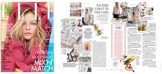 November'15 #Elle - #home #food #design #danieladallavalle #interview