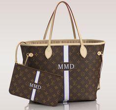 Louis Vuitton Mon Monogram Neverfull Tote MM 12.6″ W x 11.4″ H x 6.7″ D
