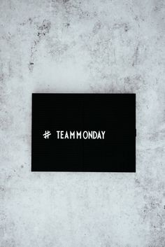 monday text overlay on black background photo – Free Black Image on Unsplash Hello Monday, Happy Monday, It's Monday, Monday Blues, What Is Something, Team Pictures, Startup, Real Estate Sales, Stock Market