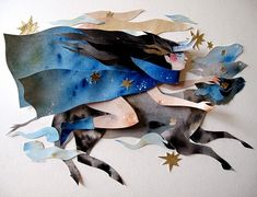Morgana Wallace is a Canadian artist who tells stories through her cut paper…