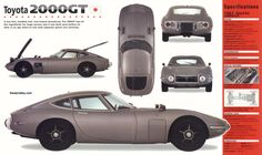 1967 Toyota 2000 GT...also featured in a bond movie
