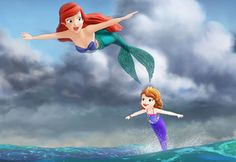 Ariel in Sofia the First - This is such a cute show!  I love watching it with my little sisters!