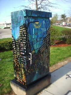 traffic light control box