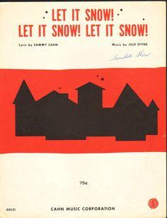 vintage sheet music #christmas