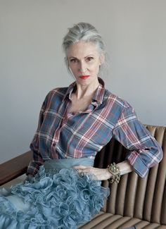 The ever-cool Linda Rodin <3