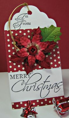 Stamping up north: Stamping Up Seasonal Sentiments Tag.