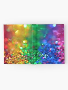 """""""Rainbow drops"""" Hardcover Journal by SCIIX   Redbubble Blank Page, Journal Design, Pattern Art, Top Artists, Rainbow, Drop, Paper, Rain Bow, Rainbows"""