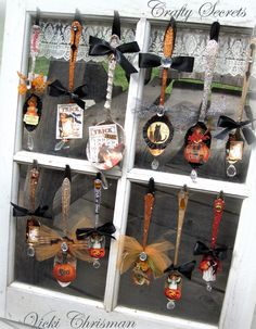 This art that makes me happy: Halloween spoons