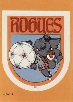 1979 Topps NASL #12 Memphis Rogues Logo Front