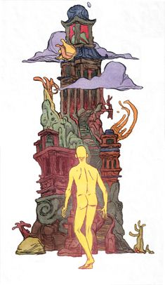 MOEBIUS, PATRON SAINT OF THE STRANGE by ~JakeWyatt on deviantART