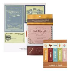 I pinned this Food Gift Labels Set from the Girl of All Work event at Joss & Main!