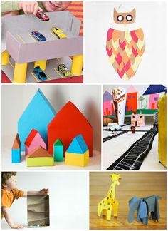 Creative and clever crafts made out of just cereal boxes!