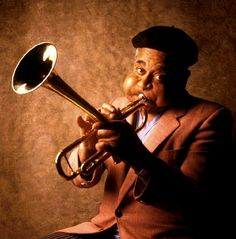 #spiritsays: We trumpet your prowess so you don't have to. http://karenweikert.com (image: Dizzy Gillespie)