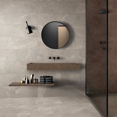 Storm Sand Floor & Wall Tiles - Beige stone effect floor & wall tiles for a bathroom. It's an inspiring interior design idea for your home or even for an exclusive hotel. It looks very classy, bright and luxurious. Bathroom Goals, Bathroom Sets, Small Bathroom, Modern Bathroom Design, Bathroom Interior Design, Bathroom Plants, Stone Bathroom Tiles, Stone Tiles, Beige Bathroom