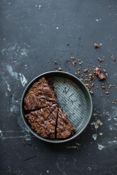 Trashy Chestnut Brownie Cake FoodBlogs.com