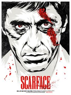 scarface film movie Art Print Framed Canvas green painting not poster Best Movie Posters, Cinema Posters, Movie Poster Art, Cool Posters, Poster Poster, Print Poster, Scarface Film, Scarface Poster, Action Movies
