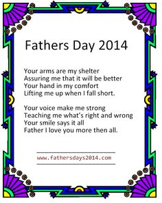 happy fathers day poems for deceased dads