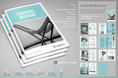 Corporate Brochure by TypoEdition on Creative Market