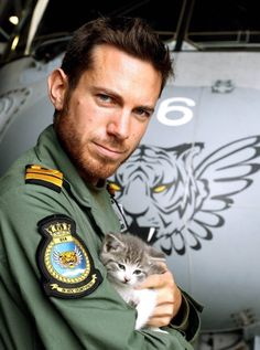 Kitten Travels 300 Miles in Navy Pilot's Car Bumper - We Love Cats and Kittens
