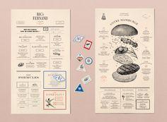 Big Fernand Restaurant Identity - Grits + Grids