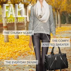 Covet Fashion's guide to fall must-haves! Style these autumn closet staples in-game.
