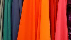 Colorido, Cores, Tecidos, Design