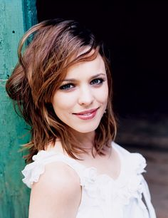 Rachel McAdams. Watch her in: Mean Girls, The Notebook, Red Eye, The Family Stone, State of Play, Sherlock Holmes, Morning Glory, Midnight in Paris